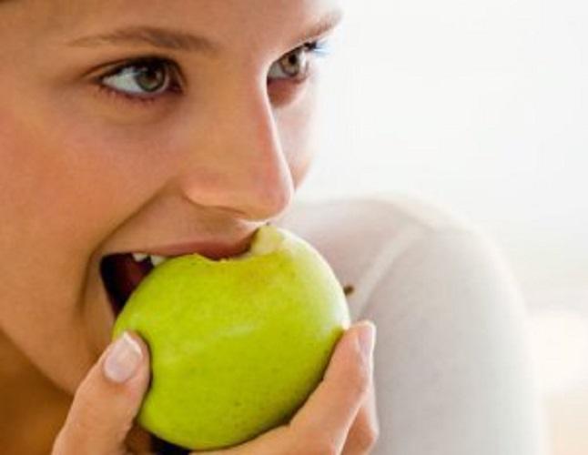 saber comer fruta